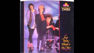 """Thompson Twins – """"Lay Your Hands On Me"""" (Arista) 1985"""