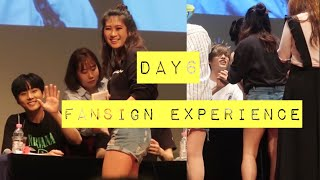 Day6 Fansign Experience- JAE (lowkey) DOES THE IN MY FEELINGS CHALLENGE W/ ME