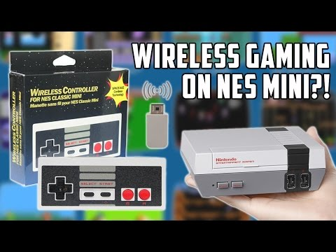 NES Classic Mini Wireless controller from China. Will it work first time??!
