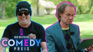 Selber Zahnarzt wie Stefan Raab? | Comedians kommentieren Kommentare | Der Deutsche Comedypreis