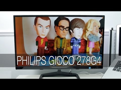 Philips Gioco 278G4 3D LED Monitor Review