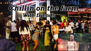 Chillin On The Farm Party With Friends, (JA Vlog 13) Jamaican Vlogger, Jamaican Party 2018