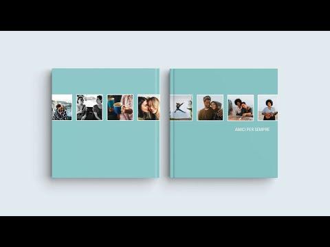 Ispirazione per la Copertina del Tuo Fotolibro – 'Amici per sempre'
