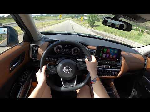 2022 Nissan Pathfinder Platinum 4WD - POV Test Drive (Binaural Audio)