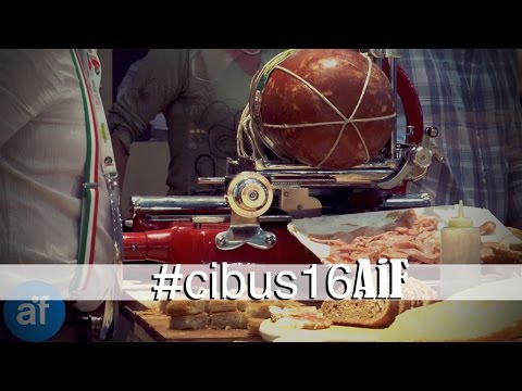 CIBUS 2016 - la fiera internazionale dedicata all'alimentazione italiana