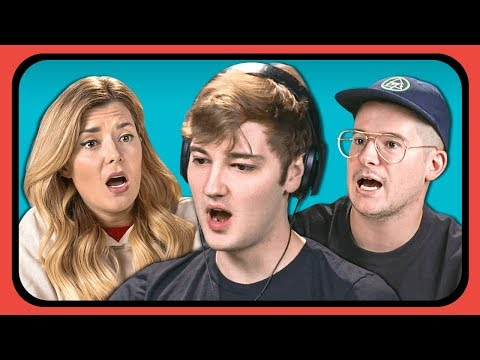 YOUTUBERS REACT TO CRAZY RUSSIAN MUSIC VIDEO | #SkibidiChallenge (видео)