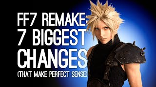 Final Fantasy 7 Remake: 7 Biggest Changes (That Make Perfect Sense)