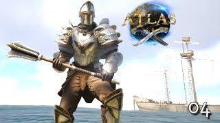 ATLAS: NEW ADVENTURES NEW DANGERS | ATLAS SERVER GAMEPLAY LET'S PLAY E04