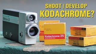 Shooting / Developing Kodachrome Movie Film as BW