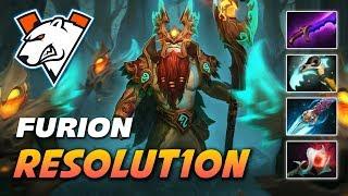 Resolut1on Nature's Prophet Furion - Dota 2 Pro Gameplay