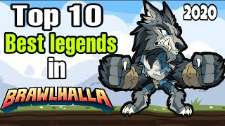 Top 10 Best Legends In Brawlhalla (2020) MOBILE PC PS4 XBOX ONE