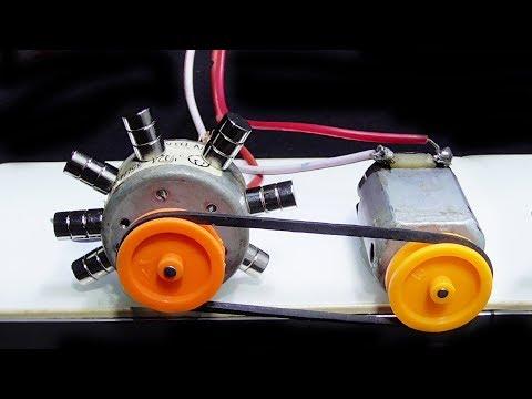How to make energy generator using mini motor