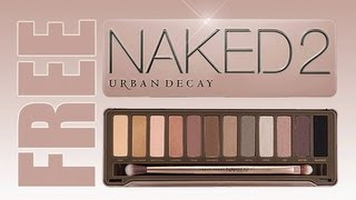 FREE MAKEUP GIVE AWAY! URBAN DECAY NAKED 2 PALETTE! AIRBRUSH SYSTEM! INGLOT! COSTAL SECNETS!