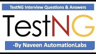 TestNG Interview Questions and Answers || TestNG Framework Interview Questions