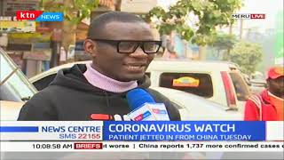 Kenyan student in China explains the scourge of coronavirus