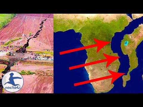 Video: Huge crack discovered in Kenya, experts say it could split into two