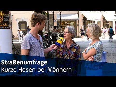 Kurze Hosen bei Männern? | Straßenumfrage | ANTENNE BAYERN