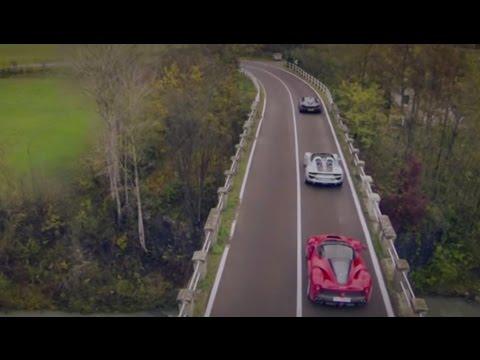 LaFerrari Vs Porsche 918 Vs McLaren P1 | Top Gear