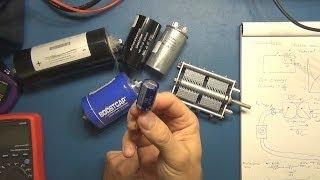 Electronics Tutorial #9 - Capacitors - Part 1