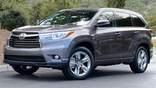 2016 Toyota Highlander Review-GREAT USE OF SPACE