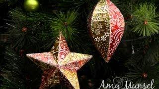 DIY Metal Christmas Baubles Decorations