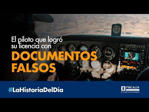 El piloto que logró su licencia con documentos falsos