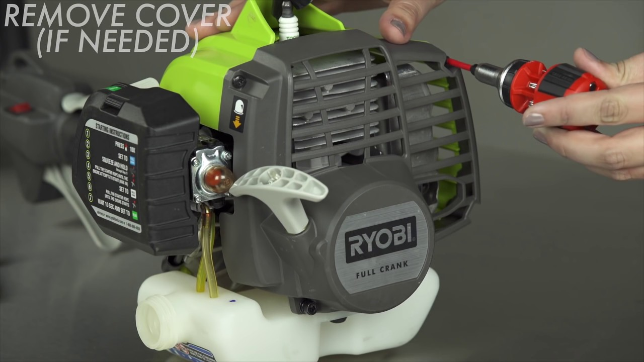 How to Replace a Primer Bulb | RYOBI Landscapes