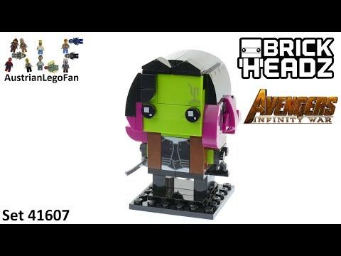 Vidéo LEGO BrickHeadz 41607 : Gamora