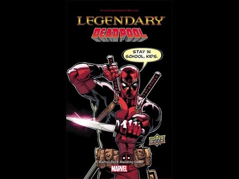 The Purge: # 1640 Legendary: Deadpool: A wacky, crazy expansion for Marvel Legendary
