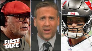 'He said that to Tom Brady?' - Max Kellerman reacts to Bruce Arians' comments | First Take