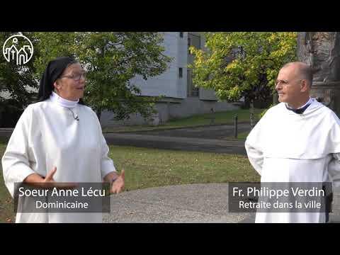 Fr. Philippe Verdin avec sr Anne Lécu