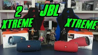JBL Xtreme vs JBL Xtreme 2 - porównanie, blind test, różnice. Który lepszy?