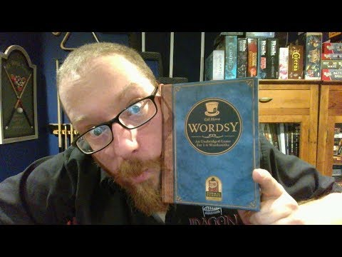 The Board Game Kaptain's review and tutorial for Wordsy