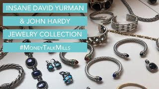HUGE David Yurman And John Hardy Jewelry Collection