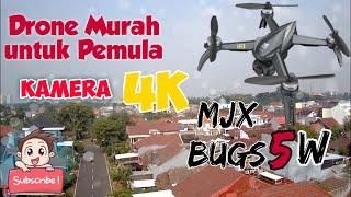 Unboxing Drone Murah Kamera Udah 4K - Stabil Cocok Untuk Pemula || MJX BUGS 5W