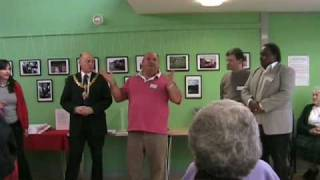 preview picture of video 'Opening of Trumpington Pavilion, Cambridge, UK.'