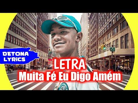 MC Menor da VU - Muita Fé eu digo Amém (Letra Oficial) DJ Alle Mark