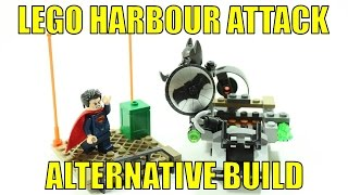 LEGO BATMAN VS SUPERMAN 76044 ALTERNATIVE BUILD HARBOUR ATTACK