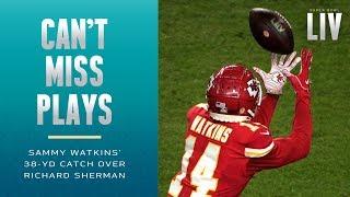 Sammy Watkins Beats Richard Sherman on Crucial Completion | Super Bowl LIV