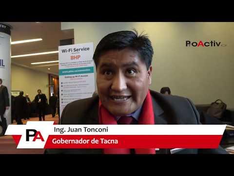 Juan Tonconi, Gobernador Regional de Tacna
