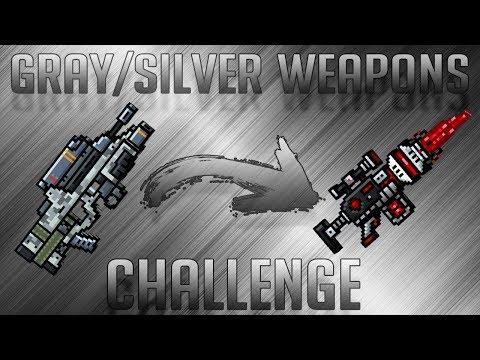 Pixel Gun 3D - Gray / Silver Weapons Challenge