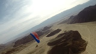 preview picture of video 'PPG flight over Timna'
