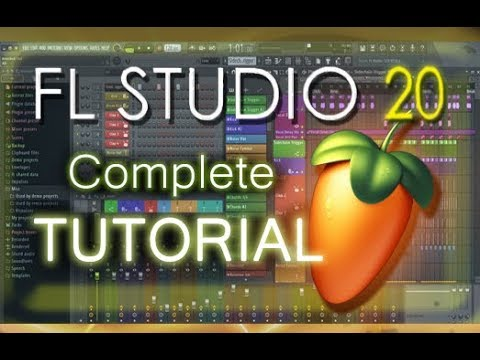 FL Studio 20 – Tutorial for Beginners [COMPLETE] in 16 MINUTES!