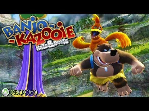 Banjo-Kazooie: Nuts & Bolts  - Xbox 360 Gameplay (2008)