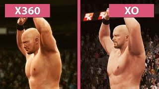 WWE 2K16 – Xbox 360 vs. Xbox One Graphics Comparison [FullHD][60fps]
