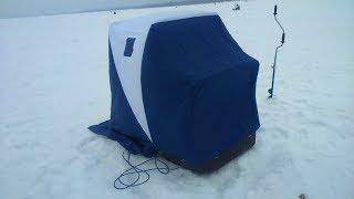 Сани с палаткой для зимней рыбалки своими руками