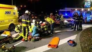 preview picture of video 'Fietsster enkele meters meegesleurd in Veldhoven'