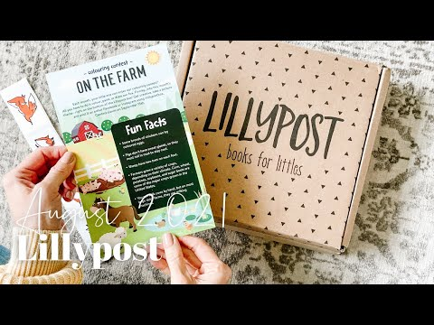 Lillypost Unboxing August 2021