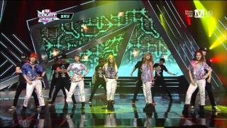 [130502] 4Minute - Whatever + What's Your Name @ M Countdown