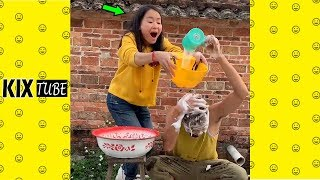 Watch keep laugh EP498 ● The funny moments 2019